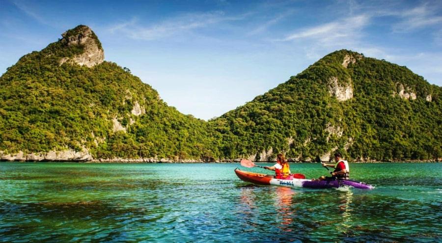 Ангтонг на тайском корабле
