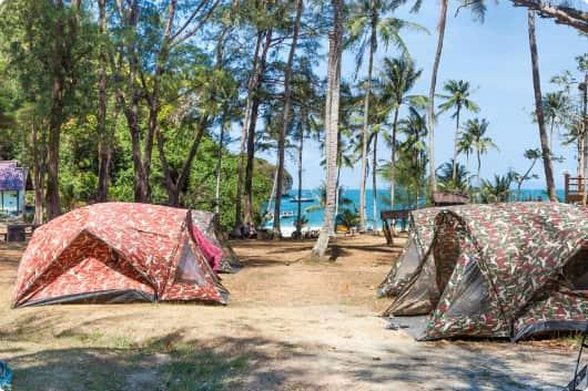 Tent in Ang Thong