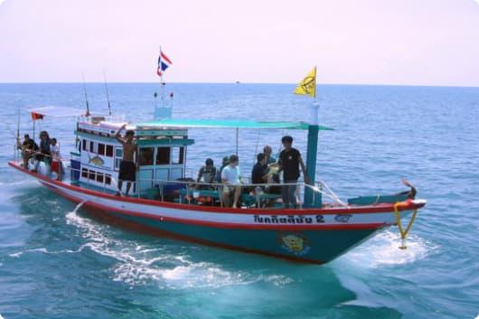 Морская рыбалка Самуи