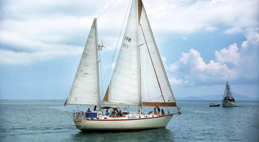 Яхта Geronimo